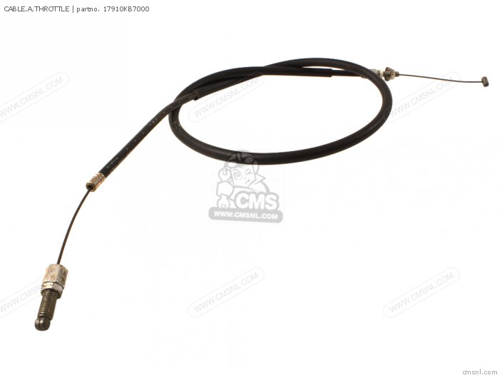 (17910-KB7-940) CABLE.A,THROTTLE