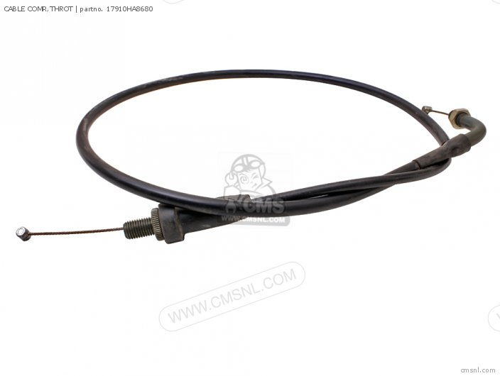 (17910HA7670) CABLE COMP.,THROT