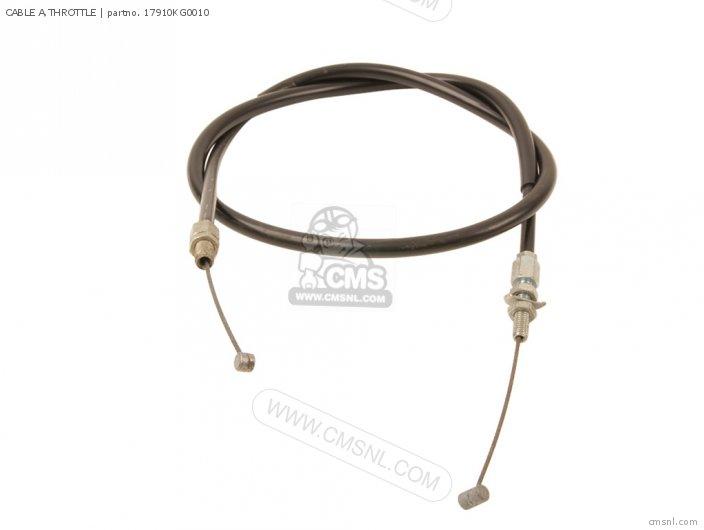(17910KG0405) CABLE A,THROTTLE