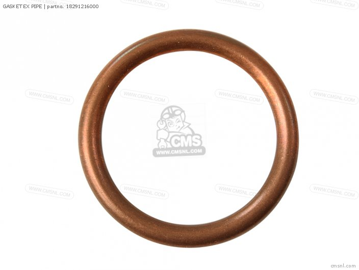18291-MN5-650 GASKET EX PIPE