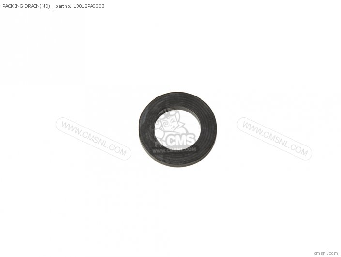 (19012ZB5003) PACKING DRAIN(ND)