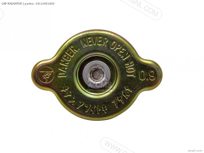 (19111-KE1-013) CAP RADIATOR