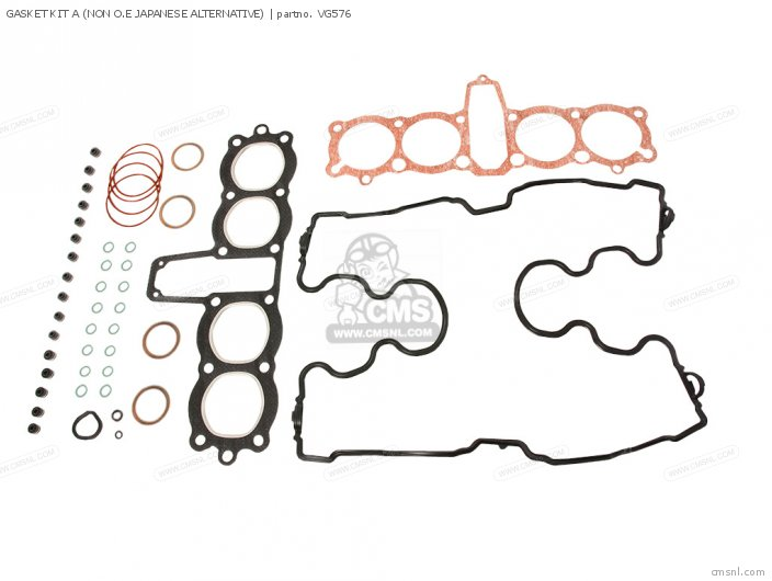 (19508-   -) GASKET KIT A (NON O.E JAPANESE ALTERNATIVE)