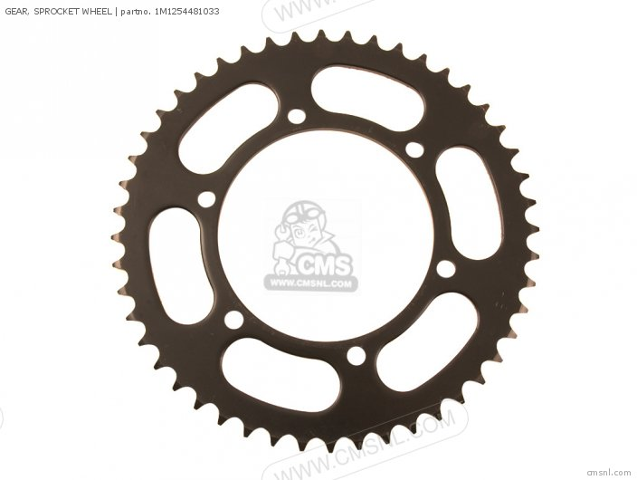(1M1254471033) GEAR, SPROCKET WHEEL
