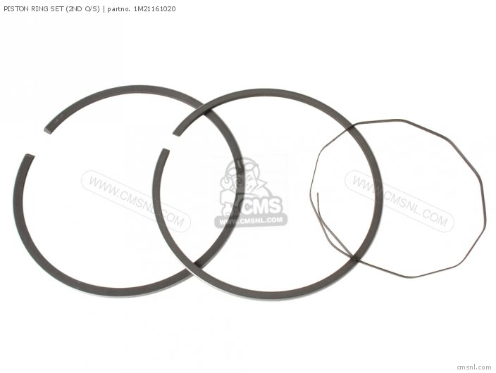 (1M21161021) PISTON RING SET (2ND O/S)
