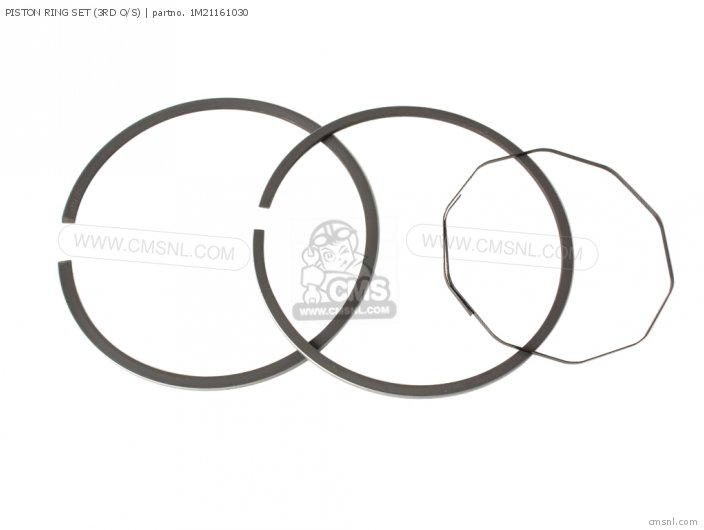 (1M21161031) PISTON RING SET (3RD O/S)