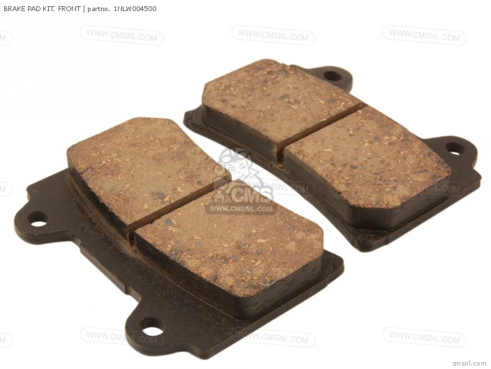 (1NLW004501) BRAKE PAD KIT, FRONT