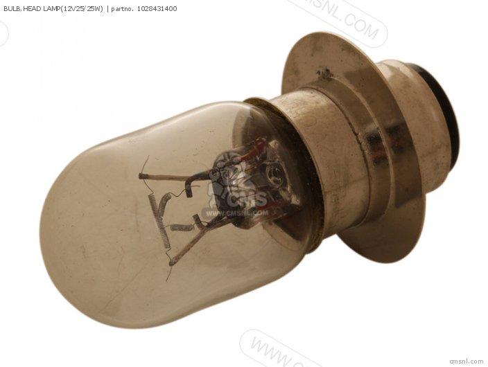 Yfm100t 1987 1yt8431400 Bulb head Lamp12v25 25w