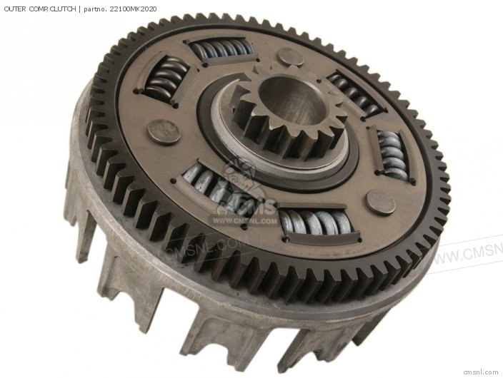 XL600R 1985 F USA 22100MN9800 OUTER COMP CLUTCH