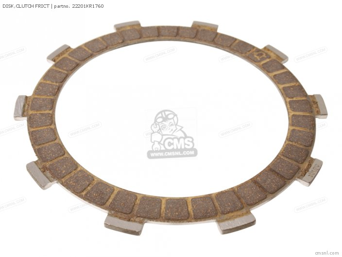 (22201-ML4-610) DISK, CLUTCH FRICT