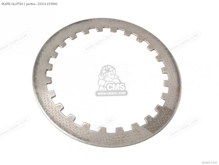 Crm75r 1989 k Spain 22311kn4680 Plate clutch