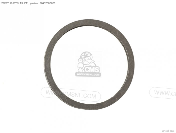22X2THRUST WASHER