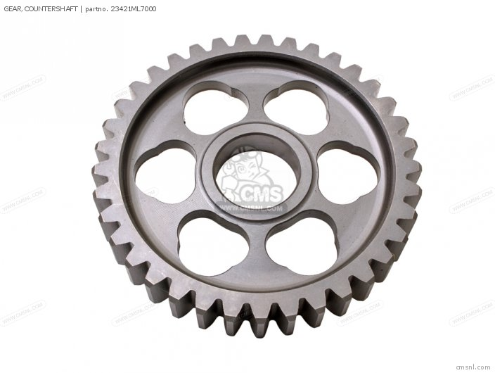 (23421MBG000) GEAR,COUNTERSHAFT