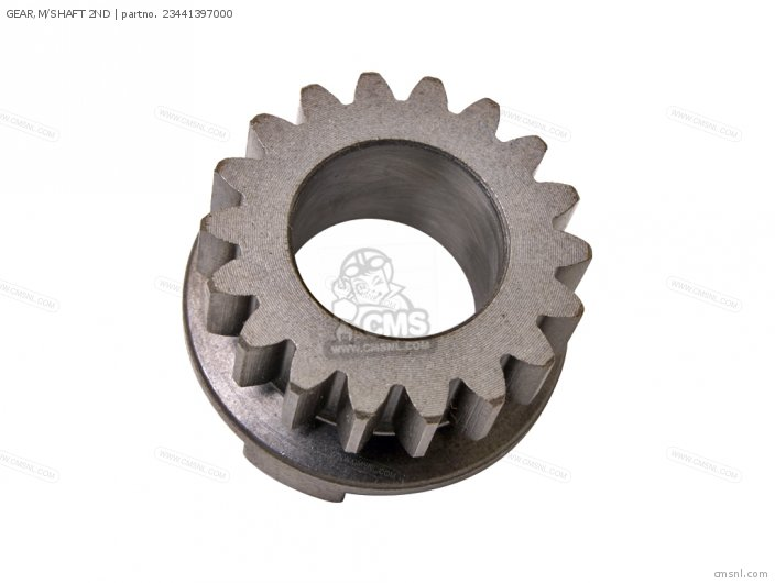 (23441397010) GEAR,M/SHAFT 2ND