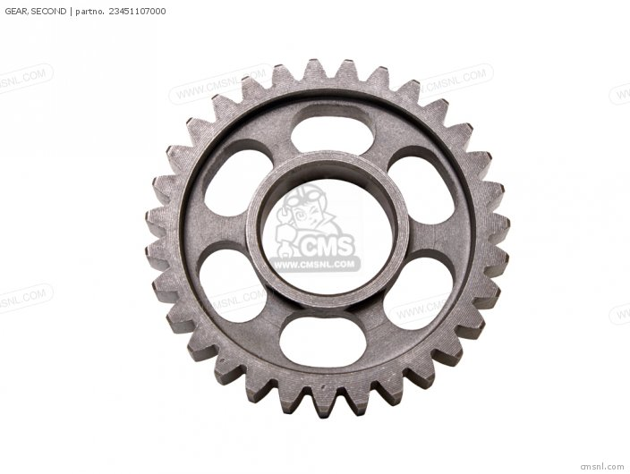 (23451331671) GEAR,SECOND