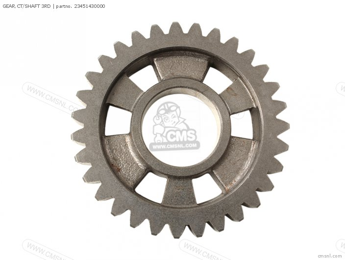 (23451961010) GEAR,CT/SHAFT 3RD