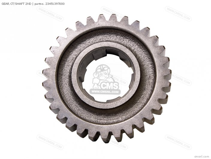 (23451KCS650) GEAR,CT/SHAFT 2ND