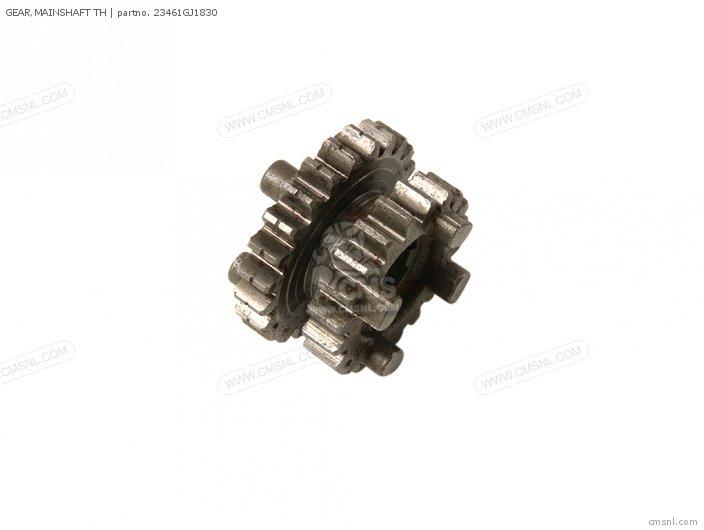 Crm75r 1989 k Spain 23461-166-600 Gear mainshaft Th