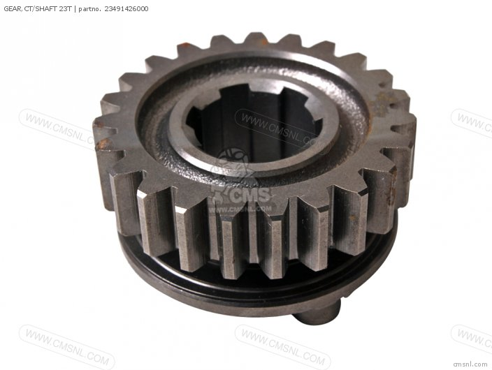 (23491426010) GEAR,CT/SHAFT 23T