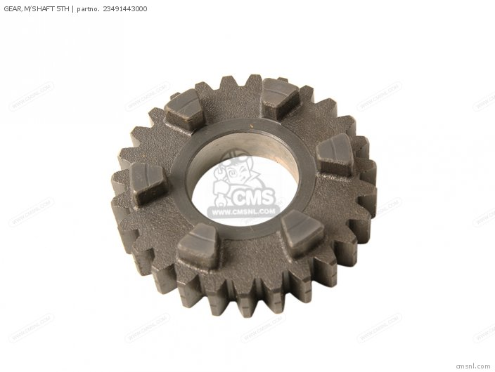 (23491MC0010) GEAR,M/SHAFT 5TH