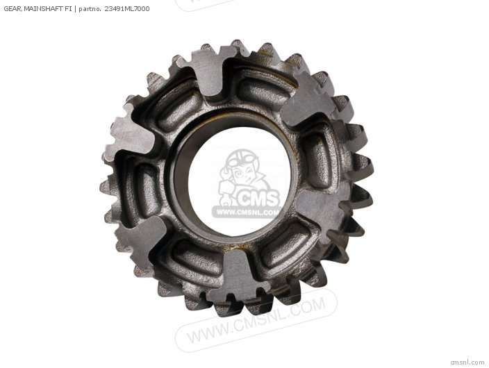 (23491MT4000) GEAR,MAINSHAFT FI