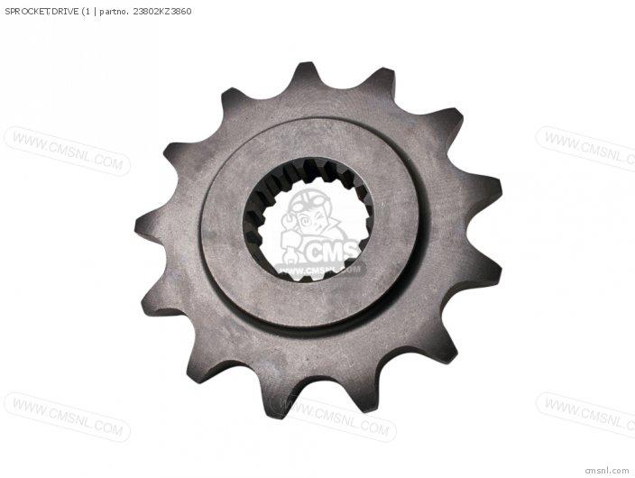 (23802-MEN-730) SPROCKET, DRIVE (1