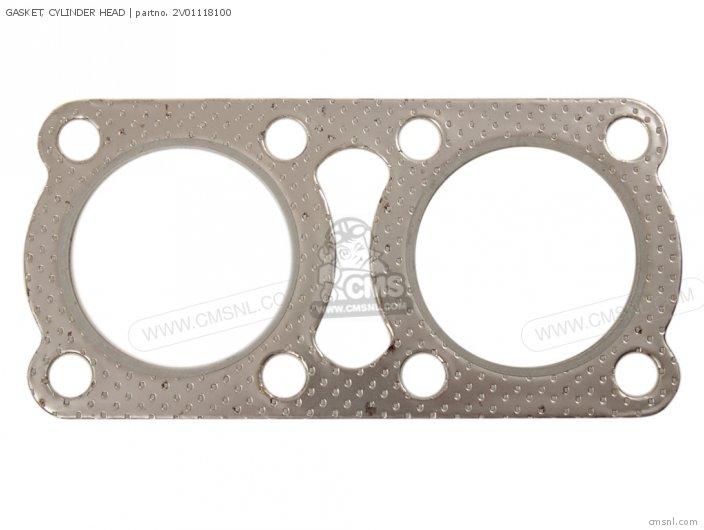 Rd400 1979 Usa 2v01118110 Gasket  Cylinder Head