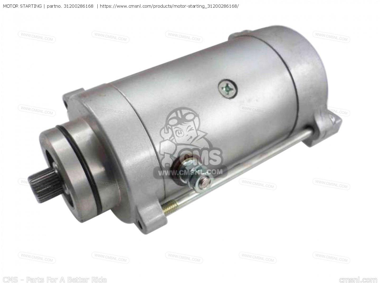 31200 286 405 Motor Starting Cb250k4 England 31200286168