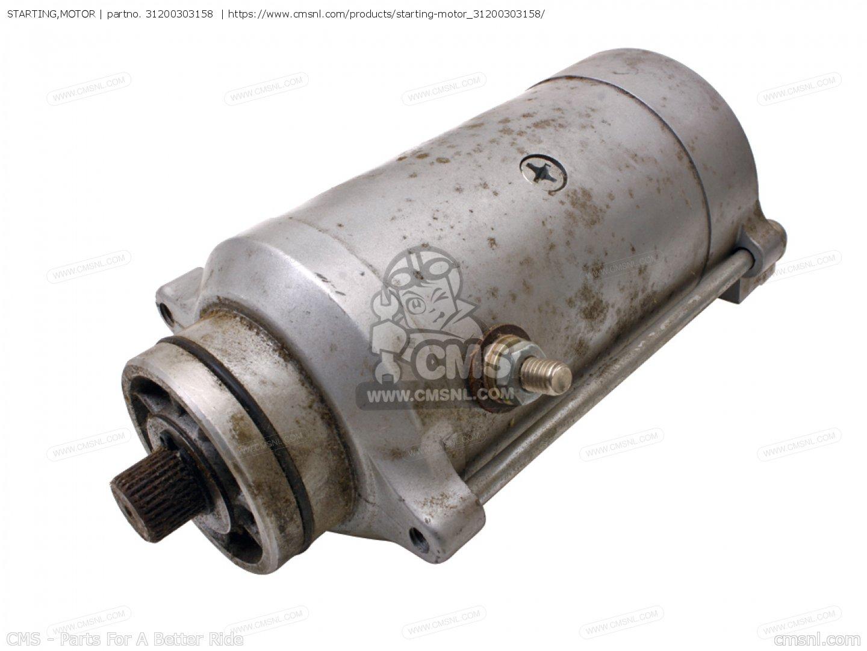 31200 303 405 Starting Motor Cb125k5 France 31200303158