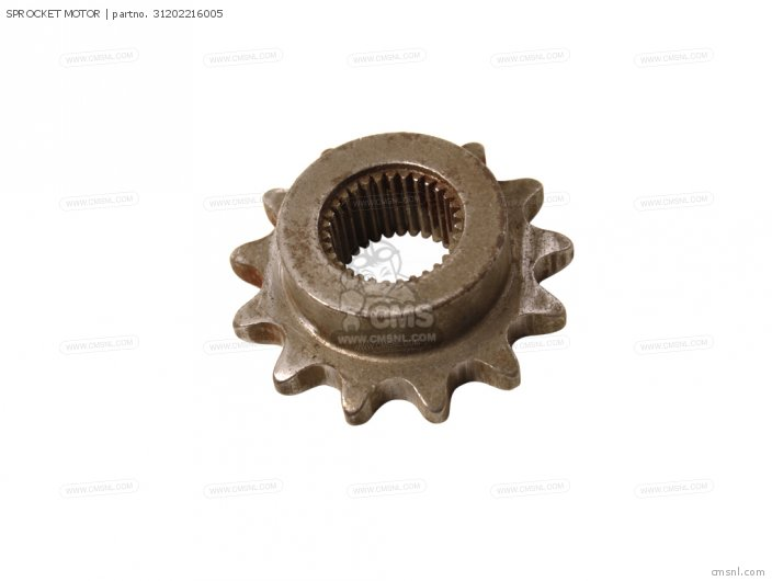 Cb250 2000 Spain 31202-216-154 Sprocket motor