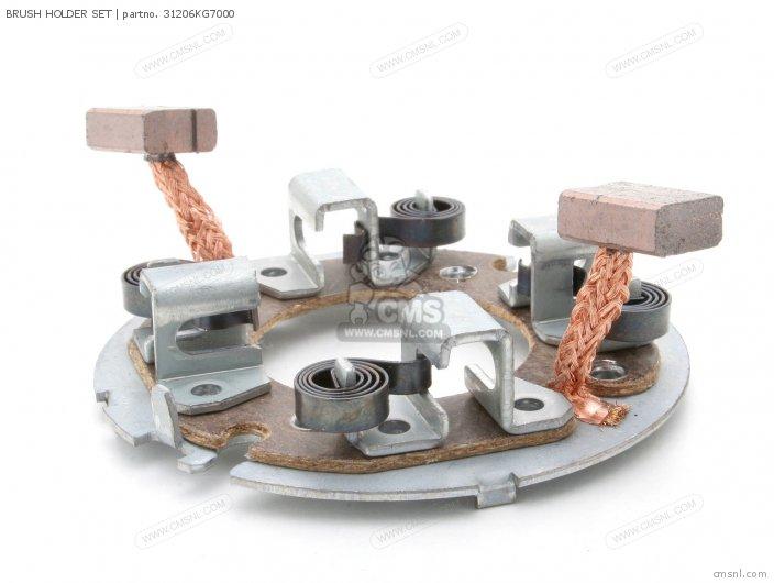 31206-MM5-008 BRUSH HOLDER SET