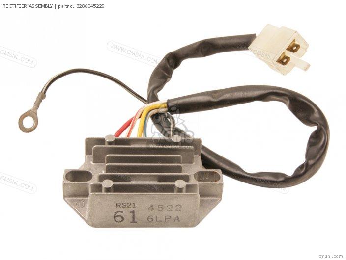 GS650M 1983 D USA E03 3280033320 RECTIFIER ASSEMBLY