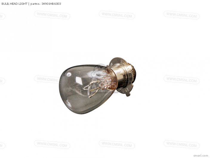 Atc200e 1982 Big Red Usa 34901-hc3-003 Bulb head Light