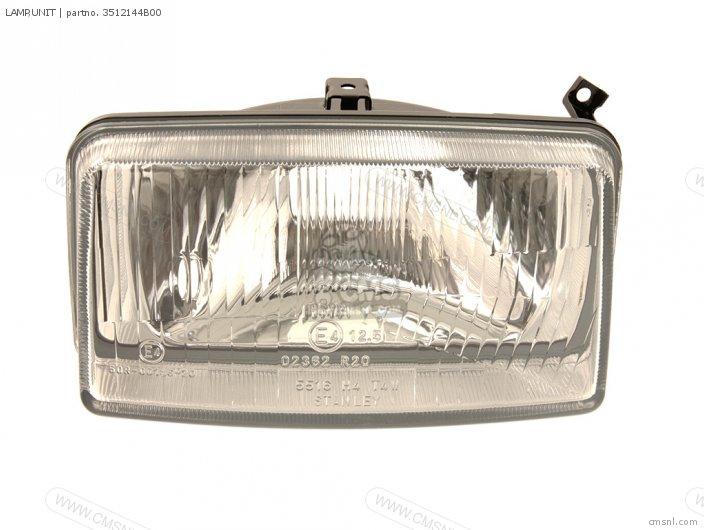 DR800S 1990 L 2 4 15 E16 E17 E18 E21 E22 E24 E25 E34 E39 E53 3512131D00 LAMP UNIT