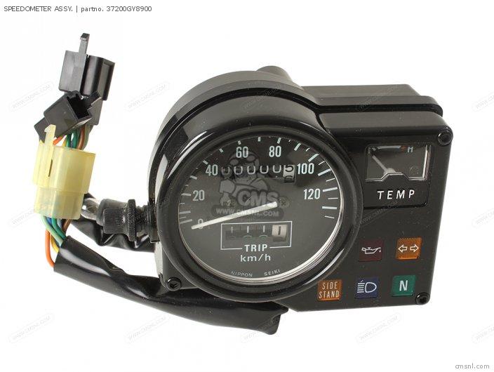 Crm75r 1989 k Spain 37200-gy8-901 Speedometer Assy