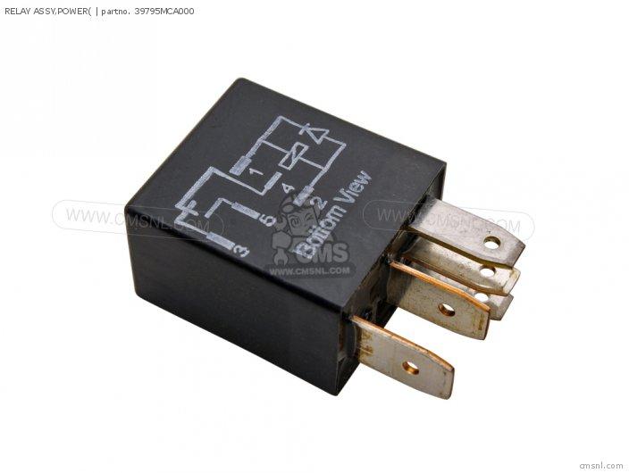 (38502-MGP-D01) RELAY ASSY, POWER(