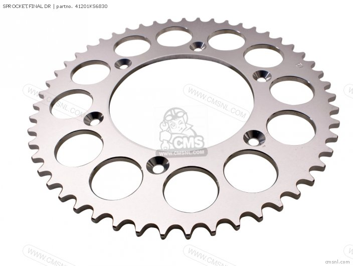 (41201KZ4711) SPROCKET,FINAL DR