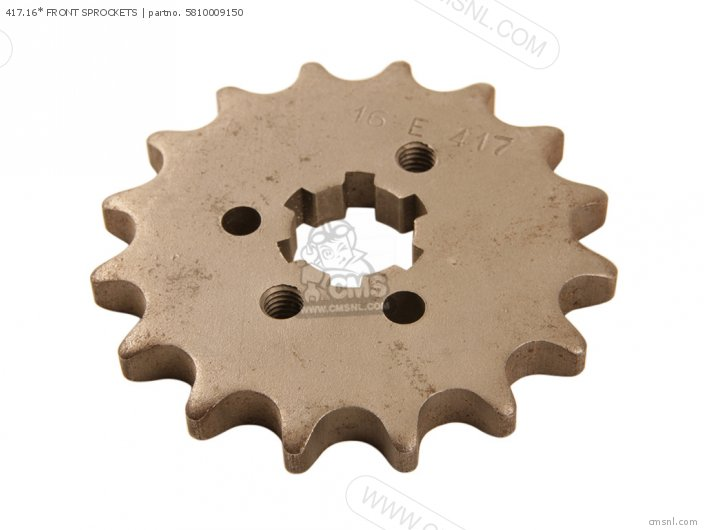 417.16* FRONT SPROCKETS