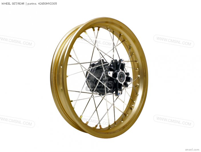 NX650 DOMINATOR 1994 R SPAIN   MKH 42650-MAN-620 WHEEL SET REAR