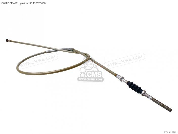 45450-107-P00 CABLE BRAKE