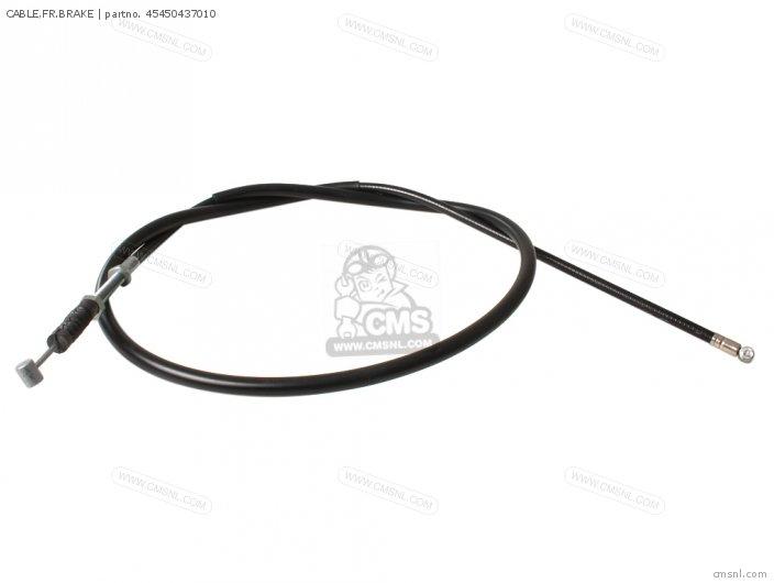 (45450KF9P00) CABLE,FR.BRAKE