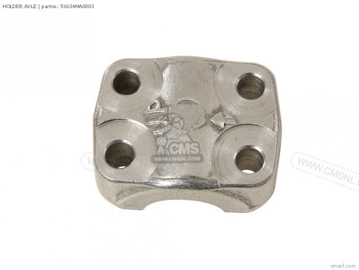 (51634HA0003) HOLDER,AXLE