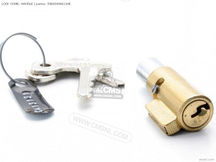 53600404611 LOCK COMP   HANDLE