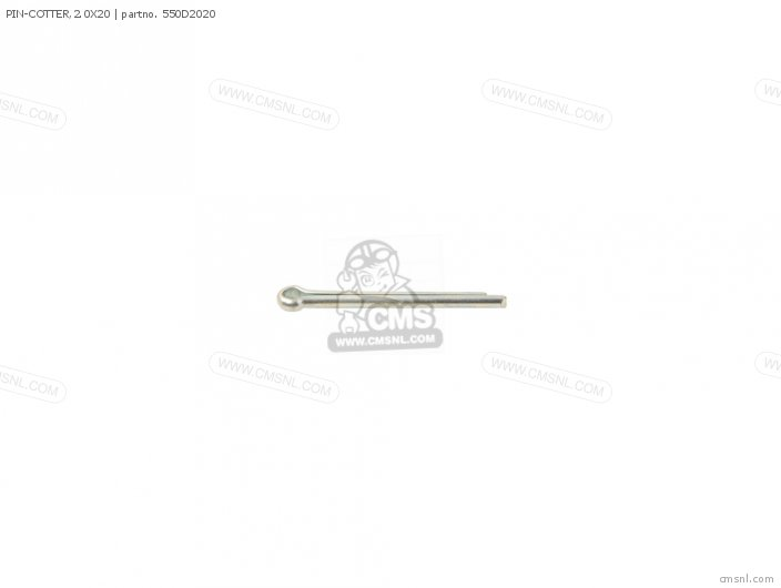 (550AA2020) PIN-COTTER,2.0X20