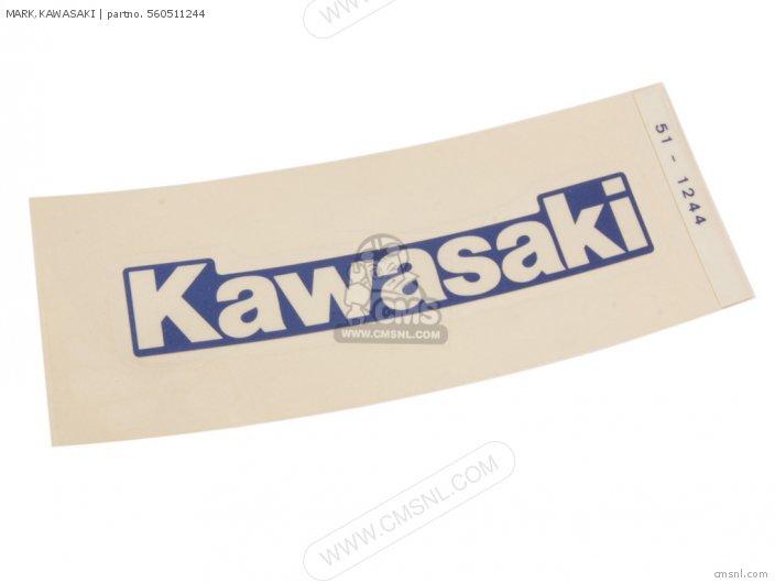 (56051-1264) MARK, KAWASAKI