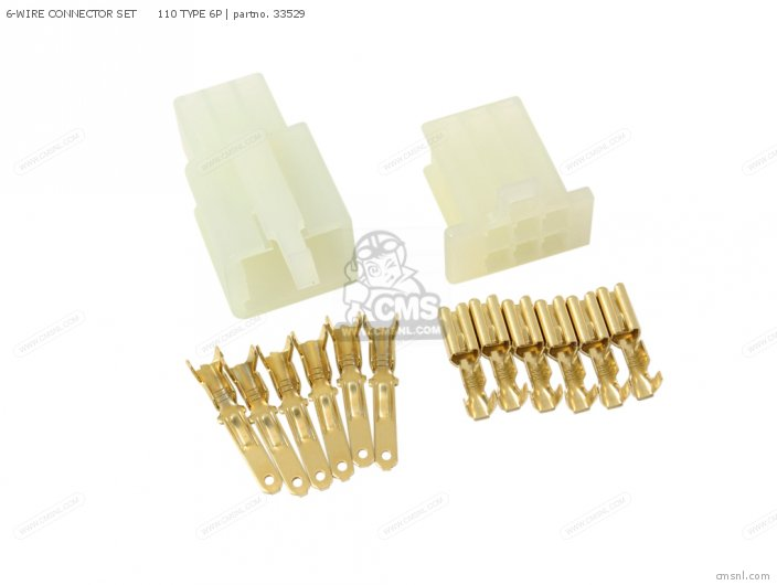 6-wire Connector Set      110 Type 6p photo