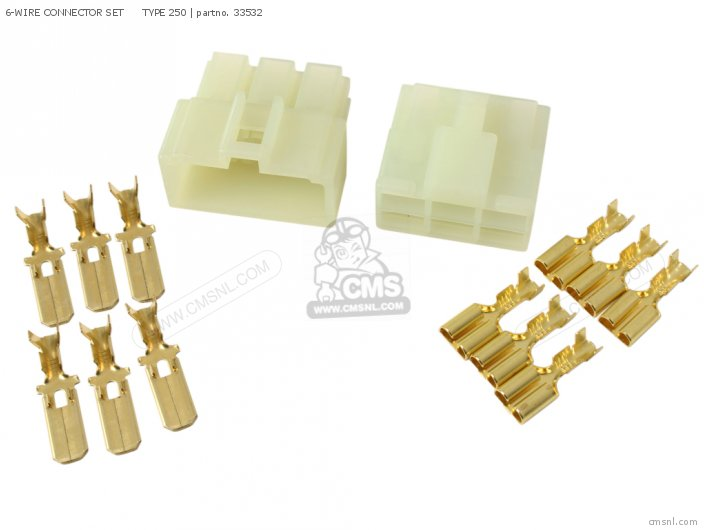 6 WIRE CONNECTOR SET TYPE 250