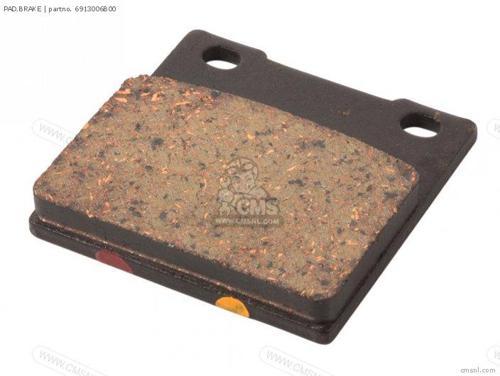 GSXR750W 1995 S USA E03 69100-06810 PAD BRAKE
