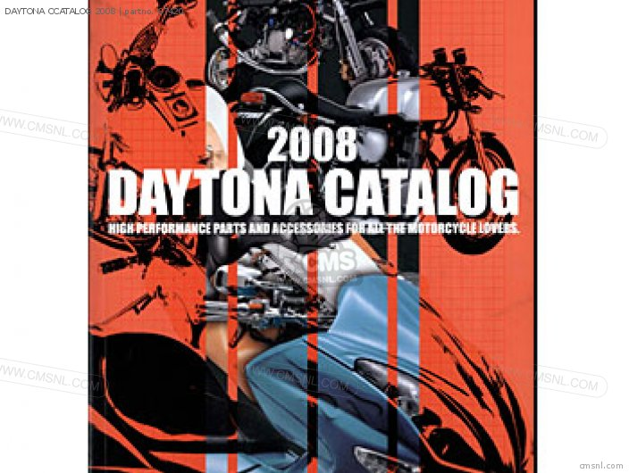 (72302) Daytona Ccatalog 2008 photo