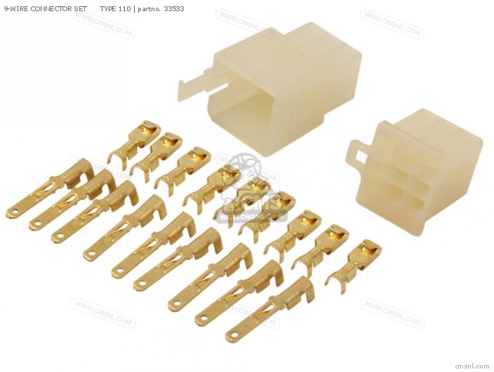 9-wire Connector Set      Type 110 photo